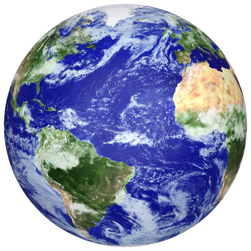 Globo da terra ilustração do vetor