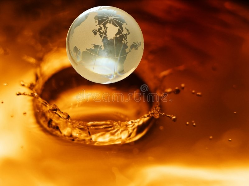 Globo de cristal #3 imagem de stock royalty free