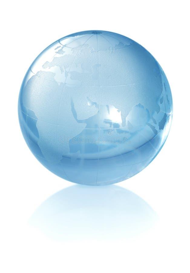 Globo de cristal del mundo foto de archivo libre de regalías