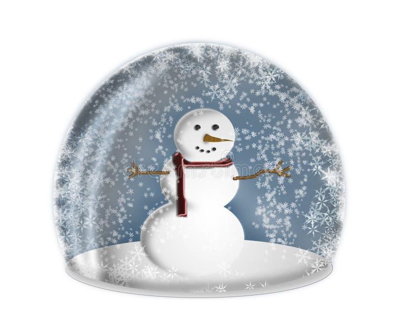 Globo de la nieve ilustración del vector
