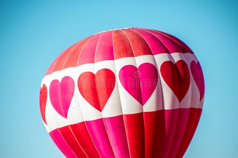 Globo del aire caliente en la fiesta del globo de Albuquerque foto de archivo libre de regalías