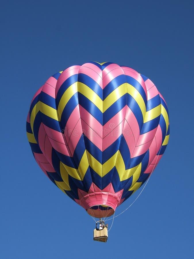 Globo del aire caliente que saca en Colorado imagen de archivo libre de regalías