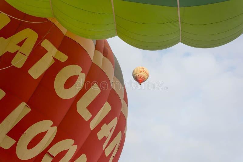 globo del aire caliente del viaje foto de archivo libre de regalías