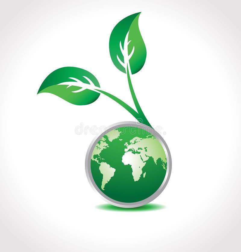 Globo del ambiente stock de ilustración