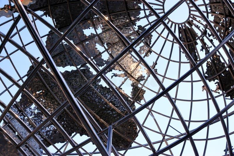 Globo del cerchio di Columbus immagine stock libera da diritti