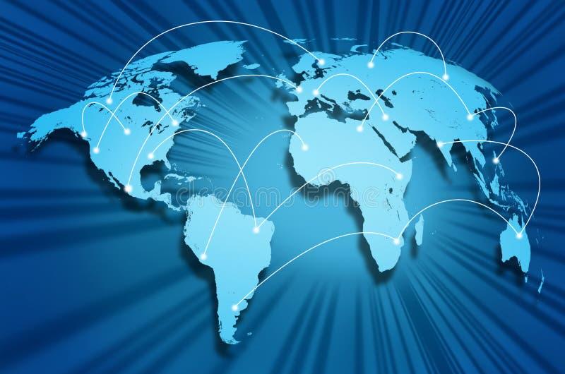 Globo del Internet ilustración del vector