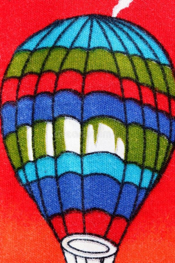 Globo del modelo en tela colorida. fotografía de archivo libre de regalías