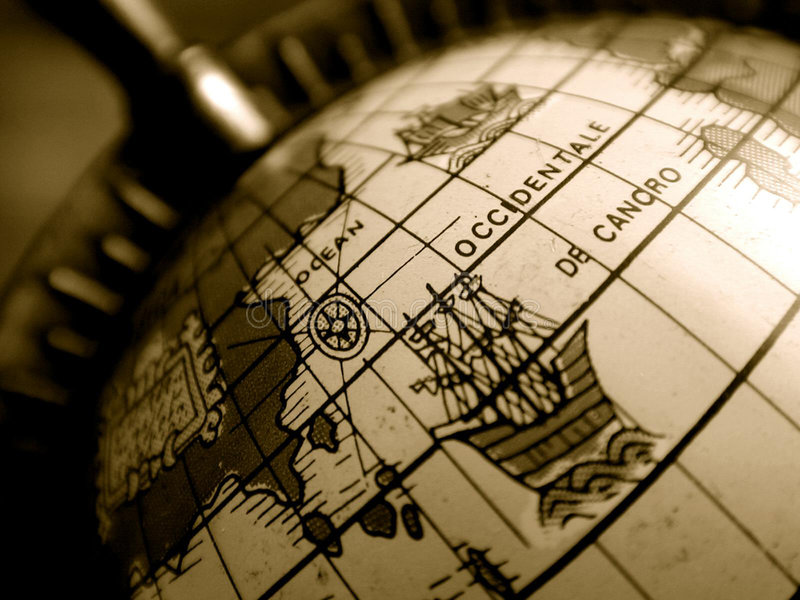 Globo Del Mundo Imagen de archivo libre de regalías