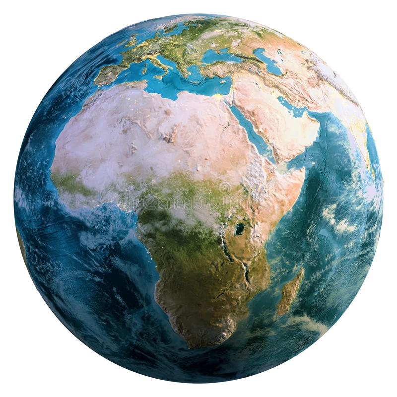 Globo del pianeta Terra fotografia stock