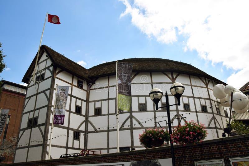 Globo del ` s de Shakespeare foto de archivo libre de regalías