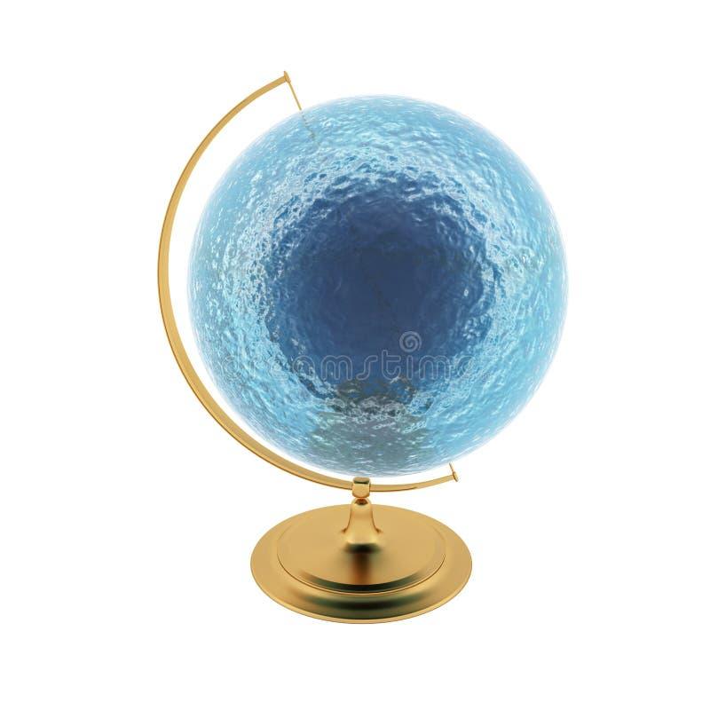 Globo dell'acqua illustrazione di stock
