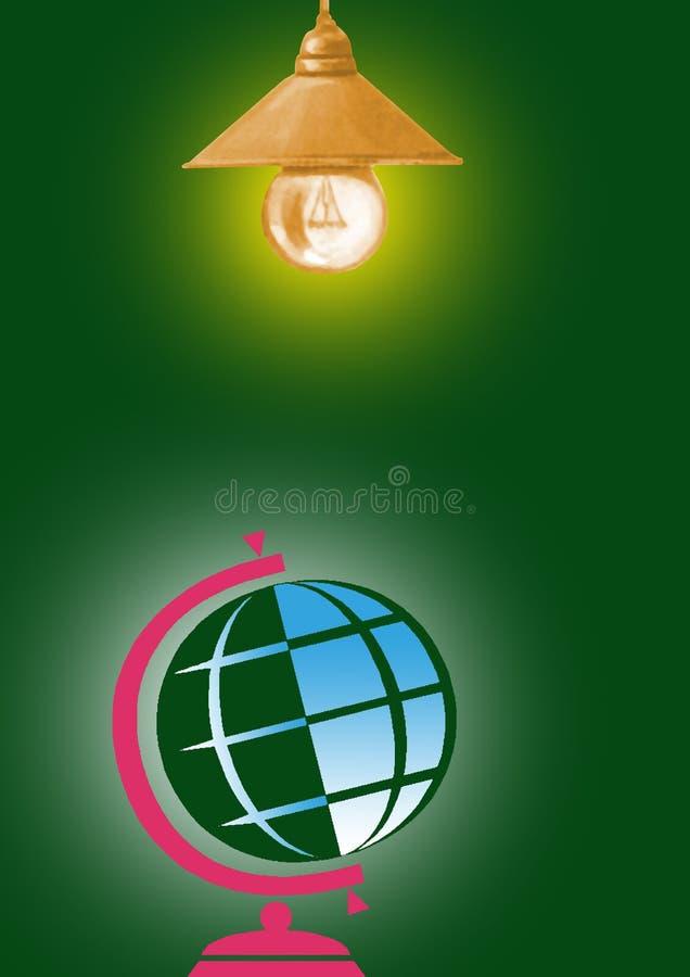 Download Globo di illuminazione illustrazione di stock. Illustrazione di yellow - 7305575