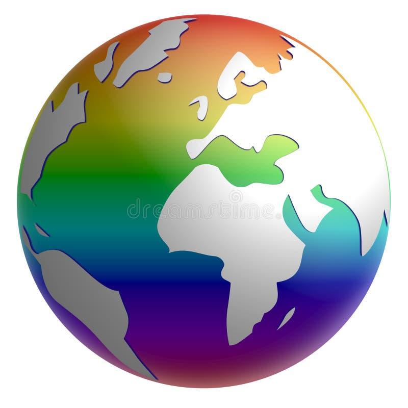 Globo di pace illustrazione vettoriale