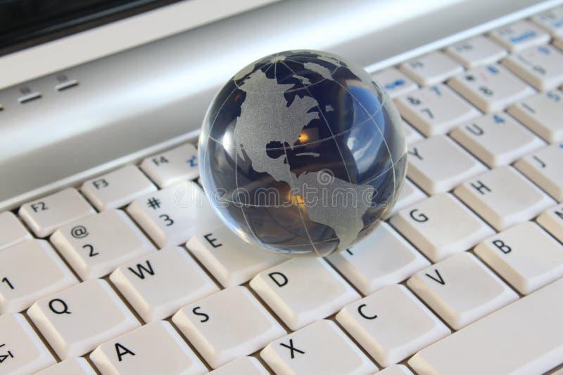 Globo di vetro fotografia stock libera da diritti