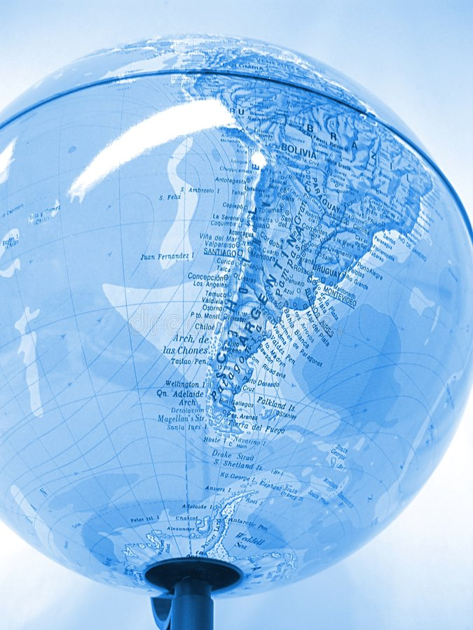 Globo do mundo foto de stock royalty free