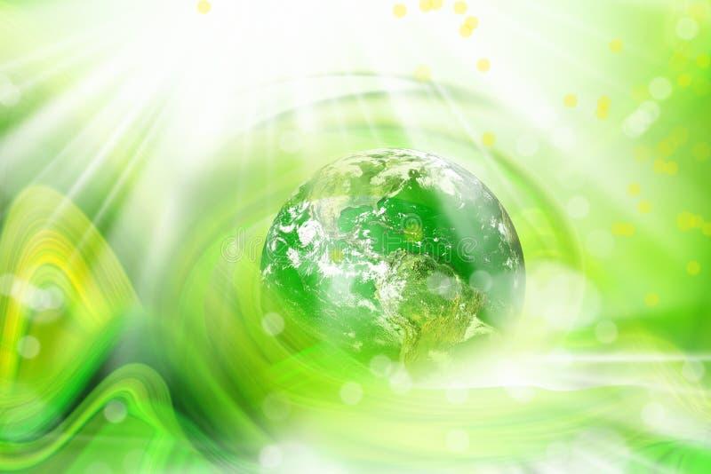 globo en verde libre illustration