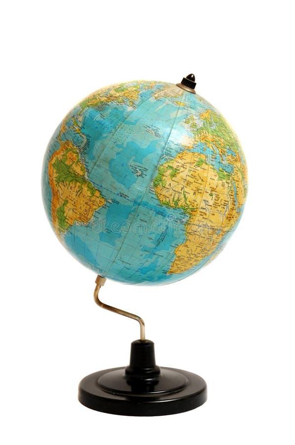 Globo geografico immagini stock libere da diritti