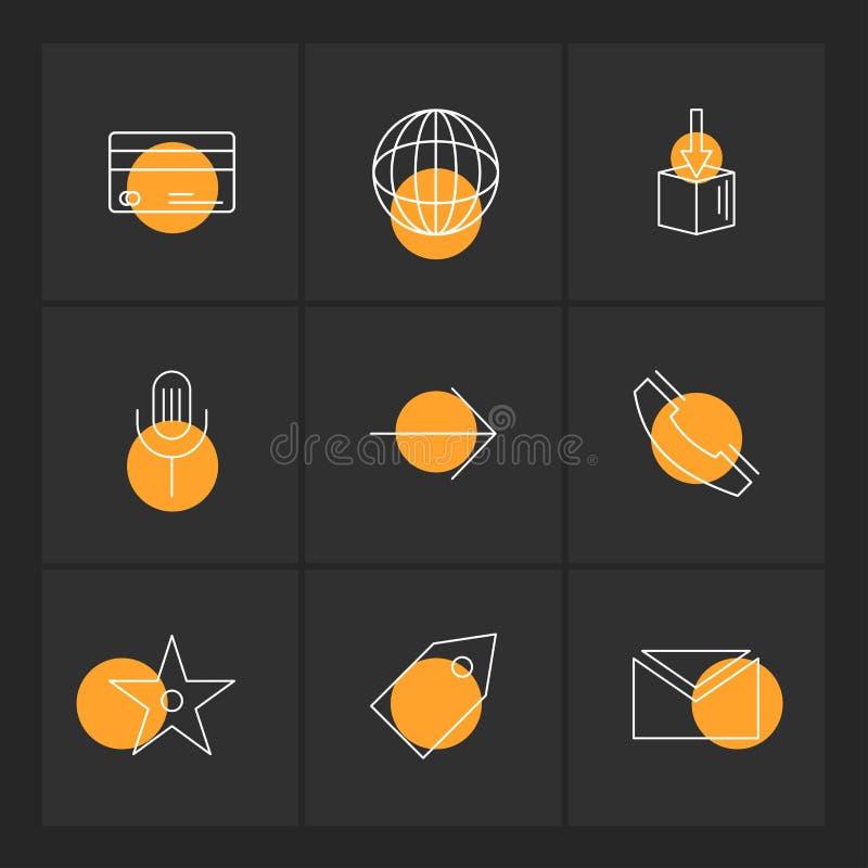 globo, mundo, micrófono, etiqueta, Internet, tecnología, etiquetas libre illustration
