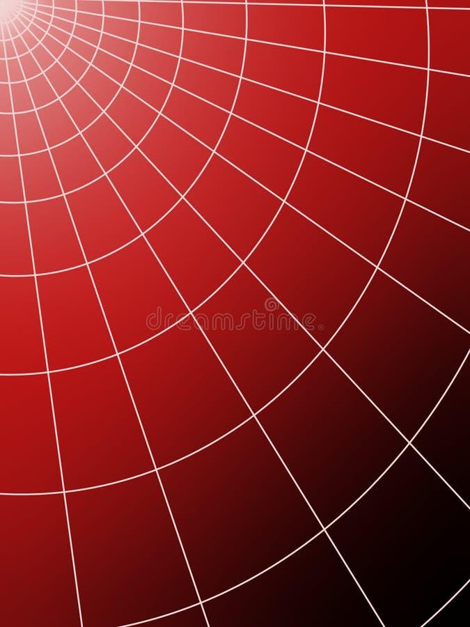 Globo rosso fotografie stock