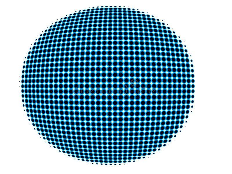Globo sferico concettuale illustrazione di stock