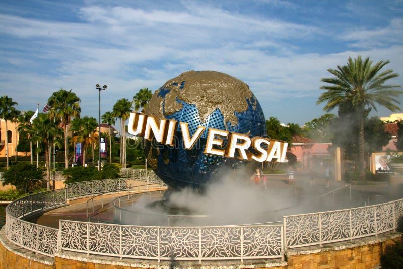 Globo universal en Orlando foto de archivo