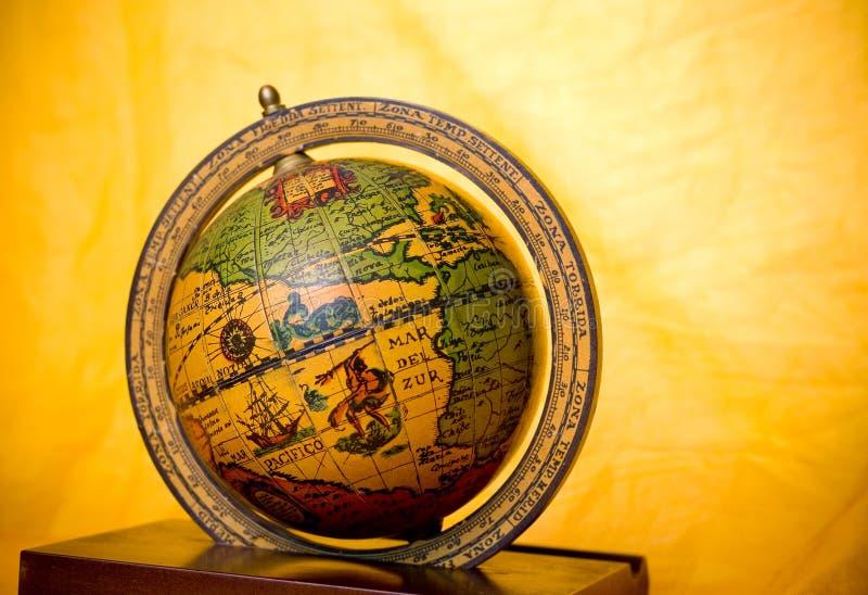 Globo velho imagens de stock royalty free