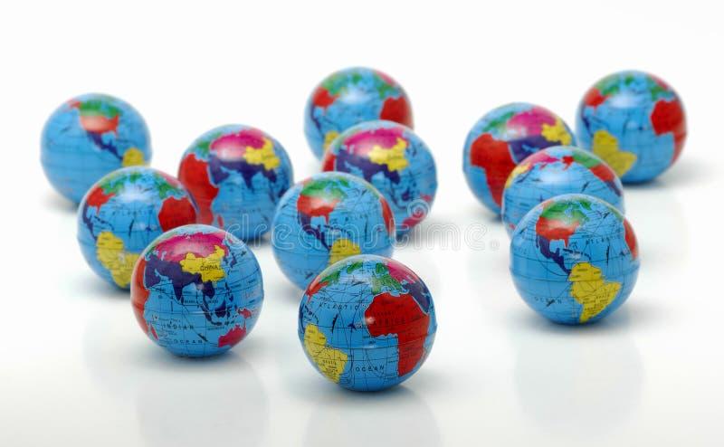 Download Globos foto de stock. Imagem de mármores, mundo, exploração - 544318