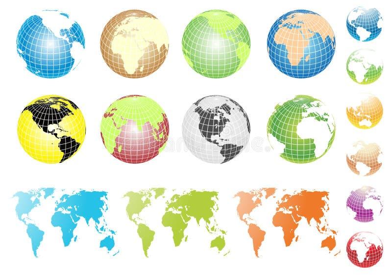 Download Globos do vetor ilustração do vetor. Ilustração de ilustração - 12806486