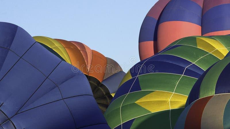 Globos en Reno Hot Air Balloon Races imagen de archivo