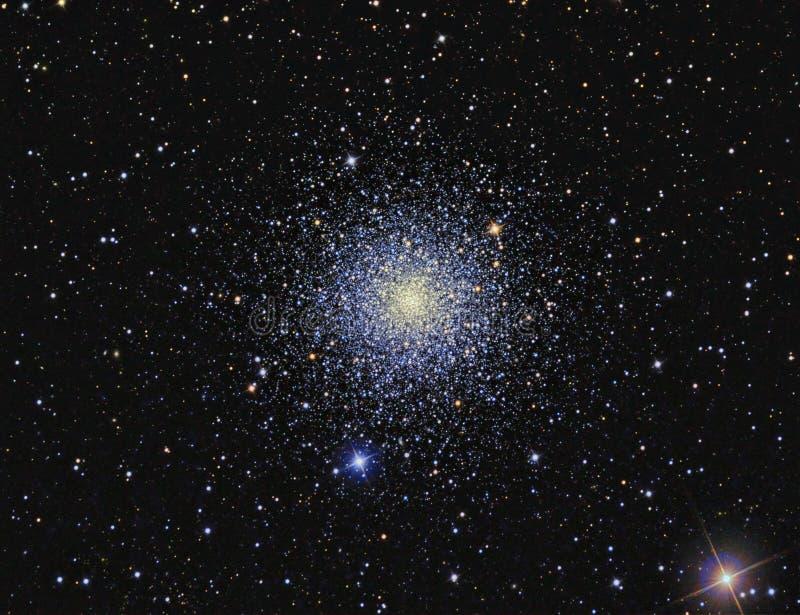 Globular συστάδα μ3 στοκ εικόνα