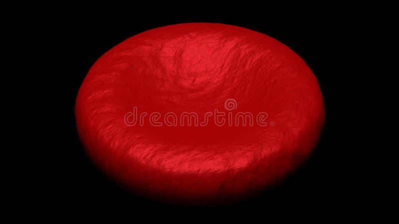 Globule rouge simple illustration de vecteur