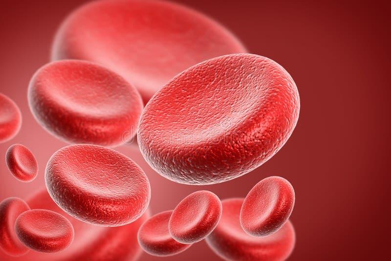 Globule sanguin illustration stock
