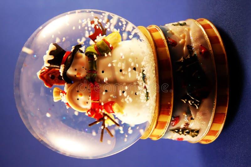 - globus śnieg obraz stock