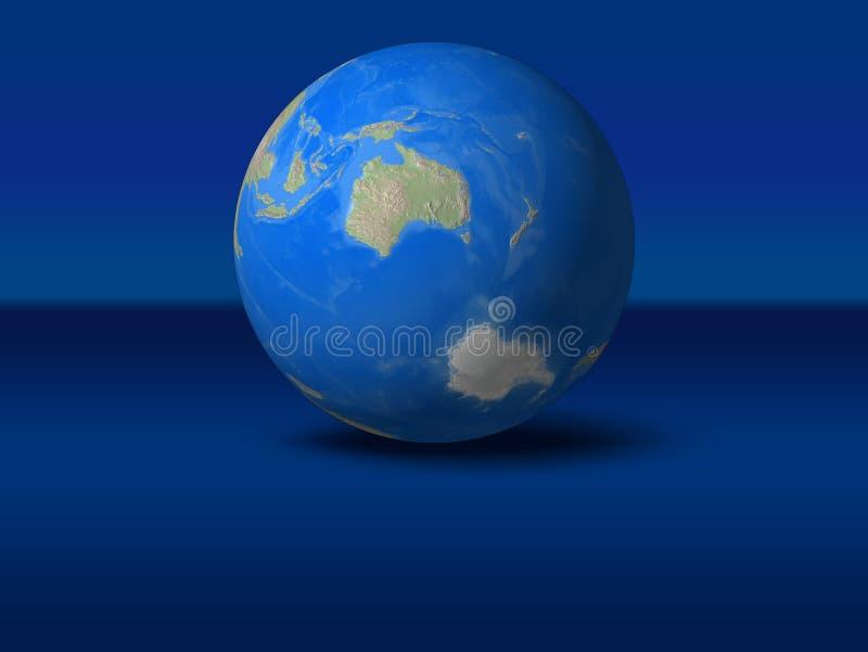 - globus świat royalty ilustracja