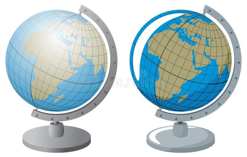Globus Fotos de Stock Royalty Free