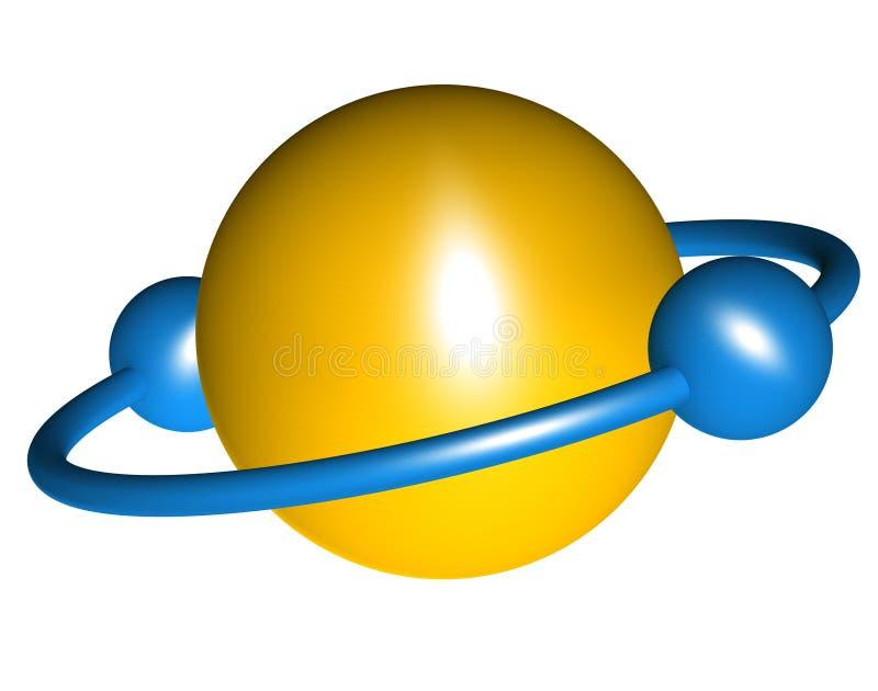 - globus abstrakcyjna ilustracja wektor