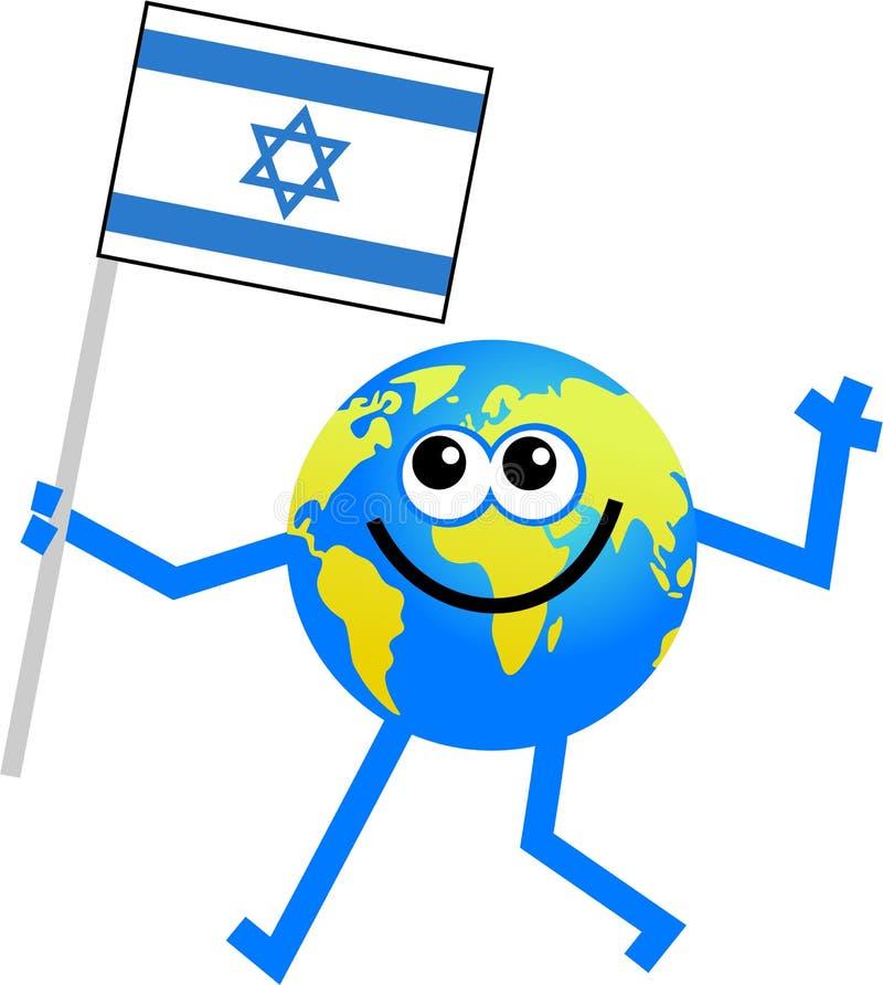 - globus bandery royalty ilustracja
