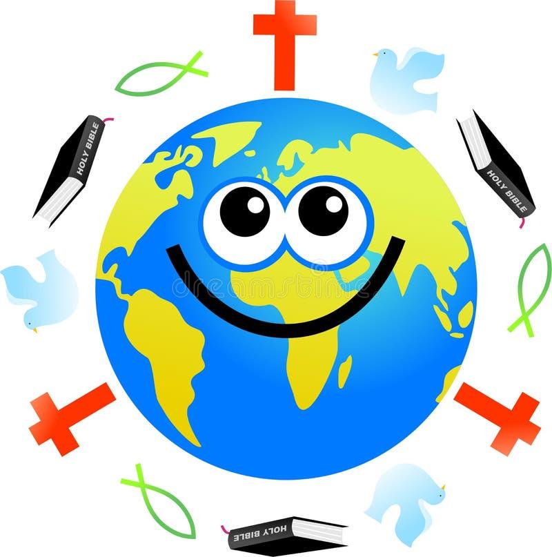 - globus chrześcijańskiej royalty ilustracja