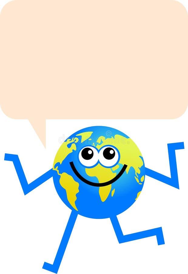 - globus komunikacji ilustracja wektor