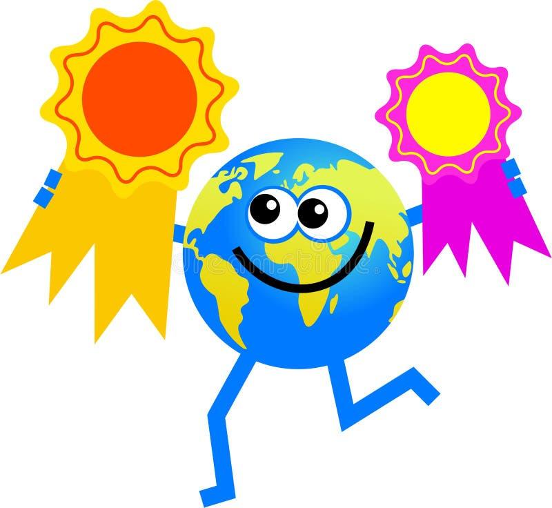 - globus nagrody royalty ilustracja