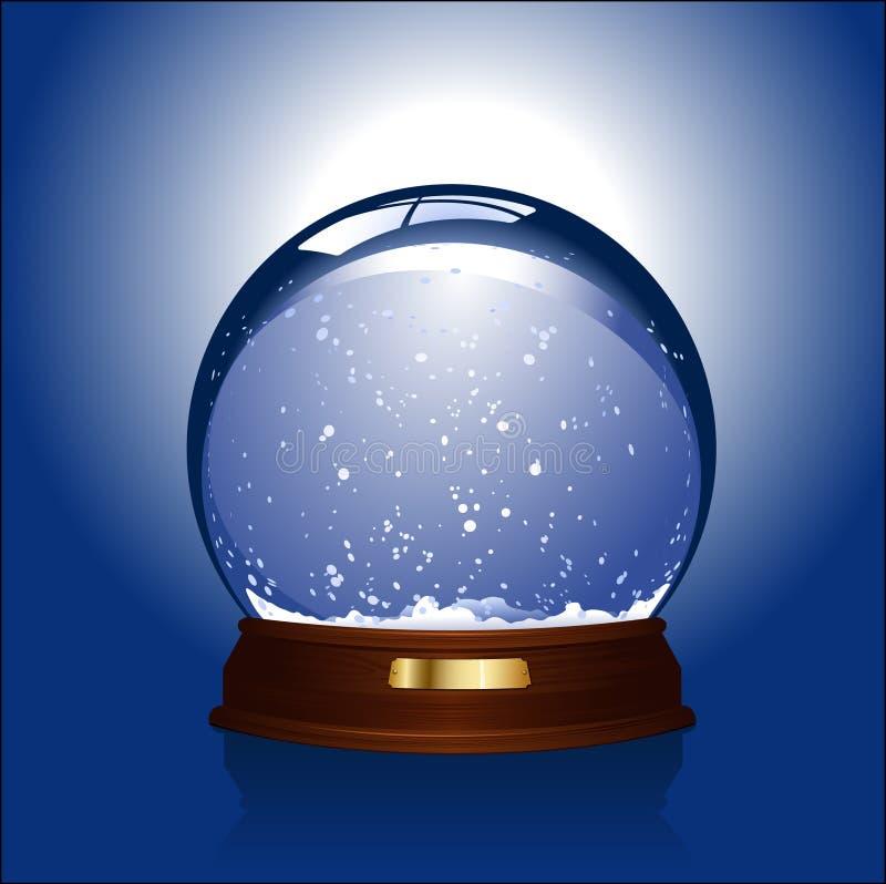 Download - globus śnieg ilustracja wektor. Obraz złożonej z glassblower - 5995122