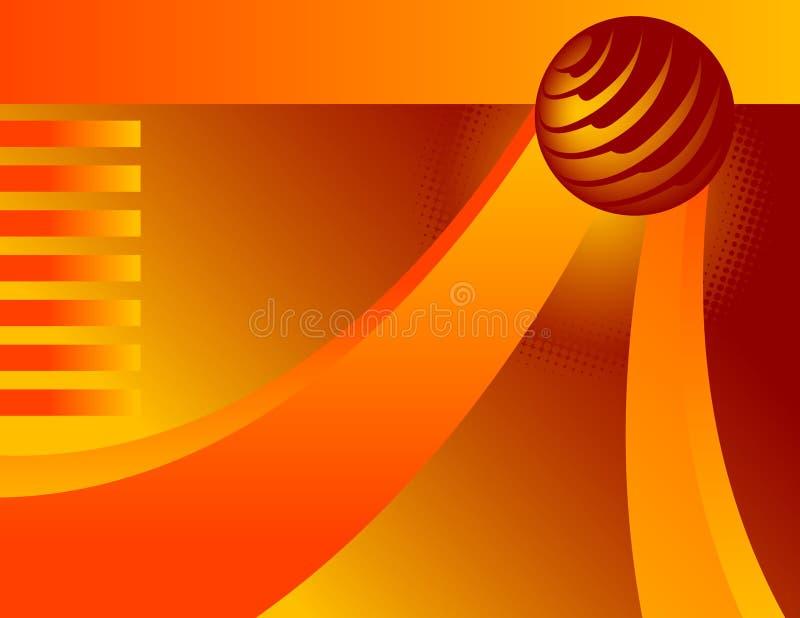 - globus tło ilustracja wektor