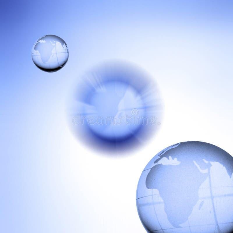 globusy świat ilustracji