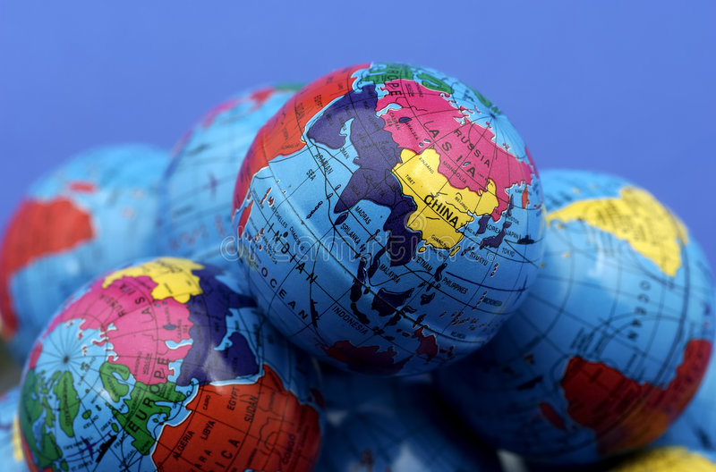 globusy zdjęcie stock