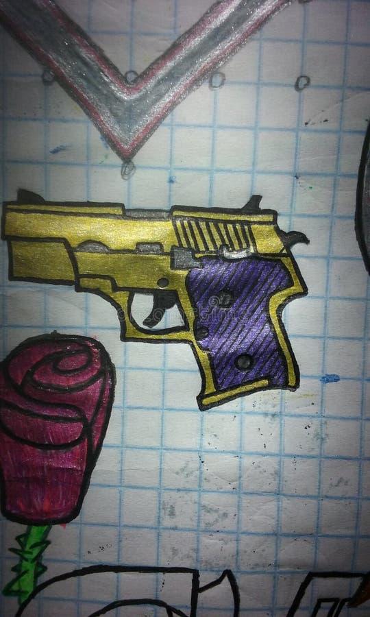 Glock 18 photo stock