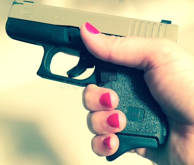 Glock 42 стоковые изображения