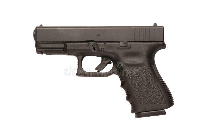 Glock 9mm pistool royalty-vrije stock afbeelding