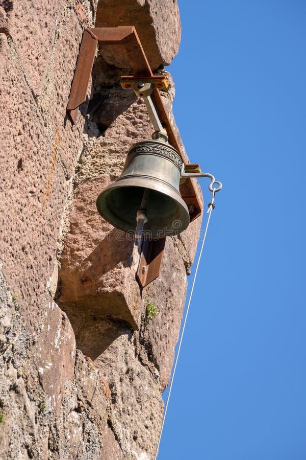 Glocke des Schlosses Hochburg bei Emmendingen lizenzfreies stockbild