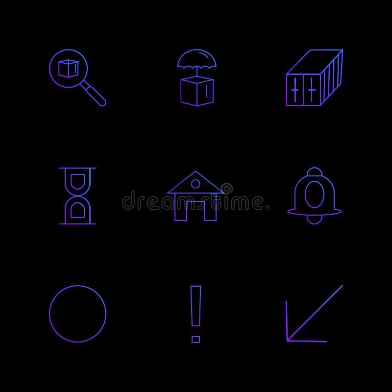 Glocke, Haus, Kreis, Suche, Internet, Technologie, Tags, a lizenzfreie abbildung