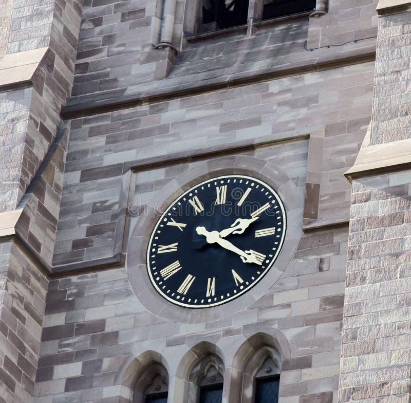 Glockenspiele auf dem Gebäude lizenzfreies stockfoto